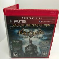 Batman Arkham Asylum PS3, Playstation 3, GOTY