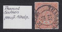 "NDP - MiNr. 3, Stempel ""THARANT"" (Sachsen), 13 VII 68  XI - bitte ansehen"