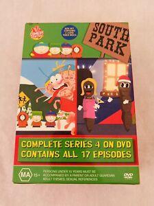 South Park Complete Series 4, 17 Episodes(DVD, Region 4, 4 -Disc set) D4