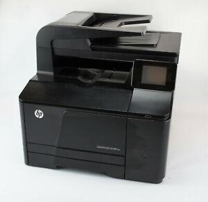 HP Color LaserJet Pro 200 MFP M276n esrt 7.189 Seiten gedruckt ** 4x neue Toner