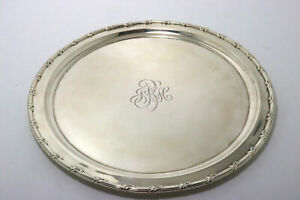 Reed & Barton Sterling Silver Tray Heavy