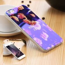 "BLU-RAY SOFT NEW ARRIVAL SILICON CASE IPHONE 6 / 6s 4.7"" PHONE COVER Flowers UK"