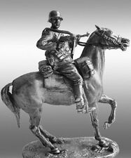 HISTORICAL TIN FIGURES GERMAN CAVALRY ON HORSE GERMANY 1941 - 1942 WWII RG5