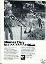 1967 Charles Daly Has No Competition Shotgun Print Ad