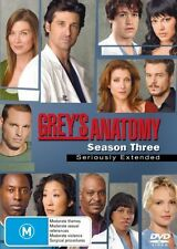 Grey's Anatomy : Season 3 (DVD, 2007, 7-dvd Set)