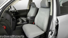 TOYOTA LANDCRUISER 200 SERIES SEAT COVERS FRONT CANVAS HEAVY DUTY GX FROM JAN 12