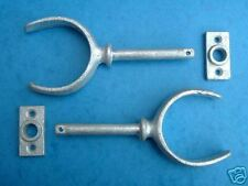 Pair of Galvanised Rowlocks Chandlery