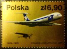 POLAND STAMPS MNH Fi2455 Sc2313 Mi2602 - 50 years of Polish Airlines,1979,clean