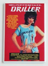 Driller FRIDGE MAGNET (2 x 3 inches) movie poster horror adult