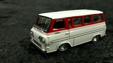 Toy car 1/64 1965 Ford Econoline Van white / red Super Cool
