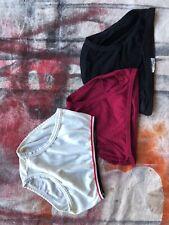 3 Vintage 60's 70's Jockey Skants Brief Men's 100% Nylon Underwear Size 32-36