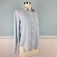 Size Small Petite SP Ann Taylor Button Up Down Long Sleeve Top Blouse Shirt