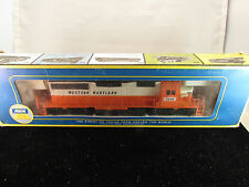 Vintage AHM HO Scale EMD SD-40 Diesel Road Switcher, Box, Brochure NIB
