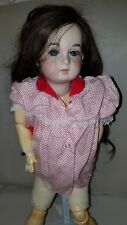 French Reproduction Doll Porcelain 1907 by Vernon Seeley Jt Am