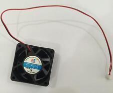 24V DC Fan 2Pin Brushless Computer Cooling Fan Dual Ball Bearing 60x60x25mm