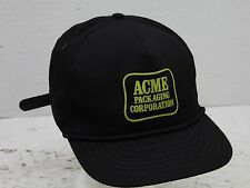 Vintage NOS Acme Packaging Corporation Wile E Coyote Road Runner Mesh Hat Cap EC