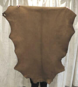 SADDLE BUCKSKIN Leather Hide for Native Crafts Taxidermy Bags Laces Flute Bags
