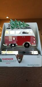Holiday Decor VW BUS Stocking Holder - Sold By Jo-Ann Stores 2019 - NIB