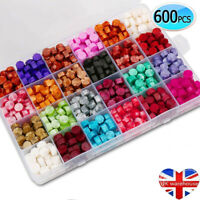 600pcs Bead Retro Colourful Traditional Sealing Wax Wedding Party Envelope Stamp