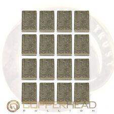 16 x 1 oz Titanium Bars (1 lb Pound) Element Design .996 CP1 Grade Bullion Ingot