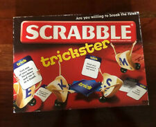 Mattel Scrabble Trickster - Are you willing to break the rules? Ages 10+ New