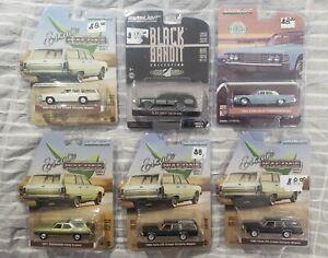 Greenlight Lot of 6 Miscellaneous Cars *MIB*