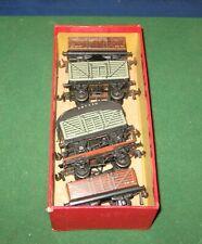 Vintage Trix OO Gauge TTR  Rake of 5 Wagons