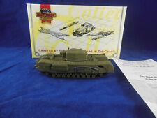 Matchbox Collectibles DYM37584 British Army Churchill MK-VII  Tank 1:72 Scale