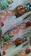 CARS  ~  Disney Pixar  ~ TWIN FLAT SHEET  ~ Tow Mater & Friends