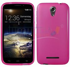 Cover TPU Gel Case Pink for Vodafone Smart 4 Power in Spain Case