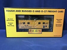 Rail King MTH 30-7727 Chicago Northwestern steel caboose FREE SHIPPING