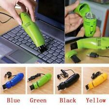 New Keyboard Cleaner Mini USB Vaccum Dust Collector Brush For Notebook Laptop PC