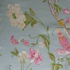 """Shabby Chic Cushion Cover in Laura Ashley Summer Palace Duckegg 16"""""""