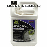 Bed Bug Spray Killer Fast Acting Kills Bed Bugs and Eggs  CASE  ( 4 gallons )