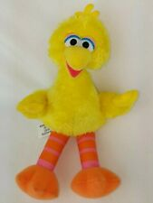 "Hasbro Sesame Street NICE SOFT BIG BIRD 10"" Plush STUFFED ANIMAL Toy"
