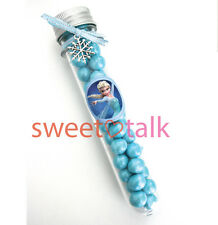 ELSA FROZEN CHOCOLATE PARTY FAVOUR, CANDY TEST TUBE LOLLY STICK