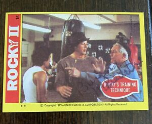 """Burgess Meredith """"Micky"""" 1979 Rocky Movie Signed AUTOGRAPHED Trading Card"""