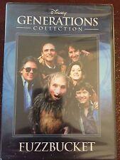 Disney Generations Collection FUZZBUCKET DVD New Sealed