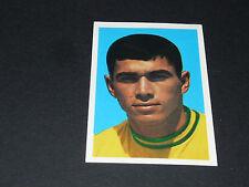 #408 CLODOALDO BRESIL BRASIL SANTOS WM70 FKS PANINI FOOTBALL ENGLAND 1970-1971