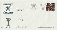 TREORCHY ( RHONDDA, WALES )  v FIJI 1995 RUGBY COMMEMORATIVE COVER