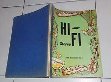 Catalogo LARIR INTERNATIONAL Hi-Fi Stereo Anni 70 Amplificatori Giradischi