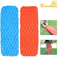 Pro Inflatable Air Mat Outdoor Tent Sleeping Pad Hiking Camping Pillow Mattress