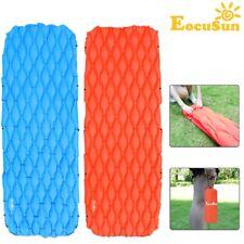 EocuSun Inflatable Air Mat Outdoor Tent Sleeping Pad Hiking Camping Mattress Bed