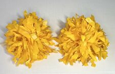 Yellow Cheerleading Pom Poms Small