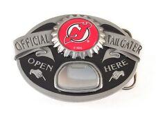 NEW JERSEY DEVILS TAILGATER BELT BUCKLE 23113 new hockey sports belt buckles