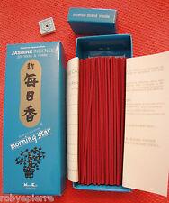 200 bastoncini incenso giapponese Nippon Kodo GELSOMINO morning star jasmine