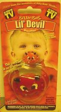 NW Billy Bob TV Halloween Lil' DEVIL Pacifier RED Authentic BABY Costume Collect