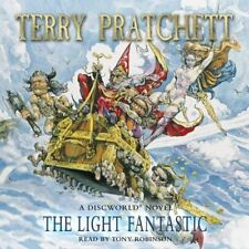 THE LIGHT FANTASTIC  by TERRY PRATCHETT AUDIO BOOK CD  - NEW & SEALED DISCWORLD