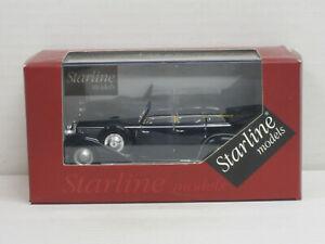 Lancia Asturia IV Serie Ministeriale dunkelblau, OVP mit Vitrine, Starline, 1:43