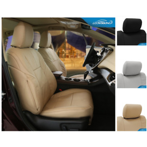 Seat Covers Genuine Leather For Fiat 500 Custom Fit